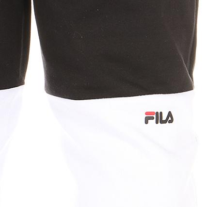 Fila Pantalon Jogging Brandon 681858 Noir Blanc Gris Chiné