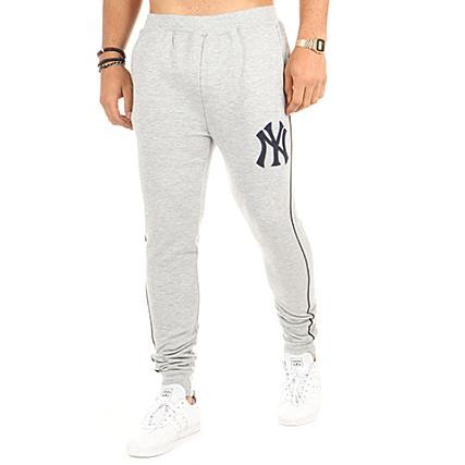 0d5d41ecefa Majestic Athletic - Pantalon Jogging Fleece Piping New York Yankees Gris  Chiné - LaBoutiqueOfficielle.com