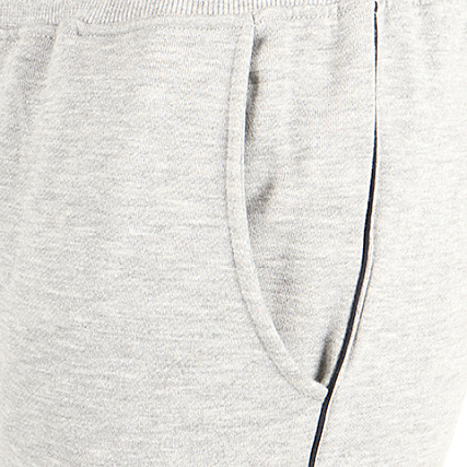 6587e247cf7 Home   Majestic Athletic   New York Yankees   Joggings   Pantalons Joggings    Majestic Athletic - Pantalon Jogging Fleece Piping New York Yankees Gris  Chiné