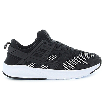 Black Low White 1010173 Baskets Fila Fleetwood X Femme l1c3TuFKJ