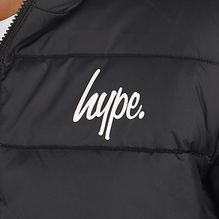Hype Doudoune Sport Noir