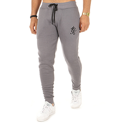 cf616d40e7 Gym King - Pantalon Jogging Fleece Gris - LaBoutiqueOfficielle.com
