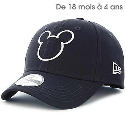 00c091d64b4f New Era - Casquette Enfant 9Forty Disney Silhouette Bleu Marine -  LaBoutiqueOfficielle.com