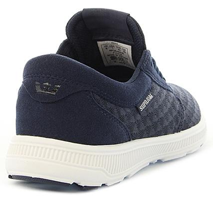 33c9dfad3857 Home   Supra   Baskets - Chaussures   Baskets Basses   Supra - Baskets Hammer  Run 08128-454 Navy Light Grey White