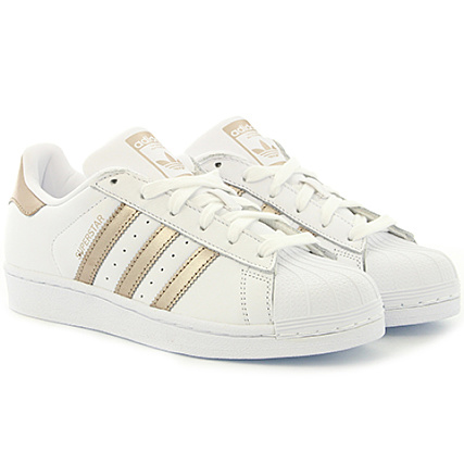 acheter pas cher decb4 a7058 adidas - Baskets Femme Superstar CG5463 Footwear White Cyber ...