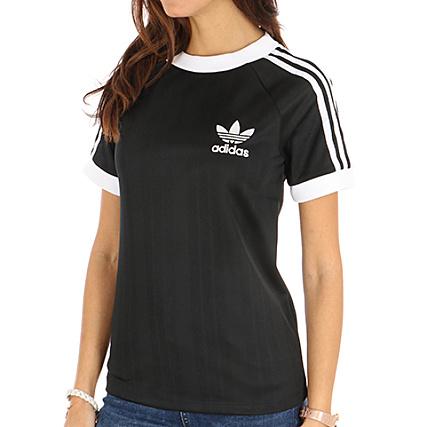 t shirt noir adidas femme
