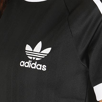 cb8de6419376 Home   adidas   T-shirts   adidas - Tee Shirt De Sport Femme Foot CE1668  Noir Blanc