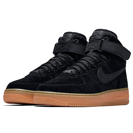 best sneakers c10fc a3251 Nike - Baskets Air Force 1 High 07 LV8 Suede AA118 001 Black Gum Med Brown  - LaBoutiqueOfficielle.com