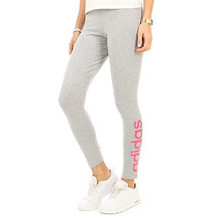 good selling cheapest price look for adidas - Legging Femme Essential Linear Tight CF8872 Gris ...