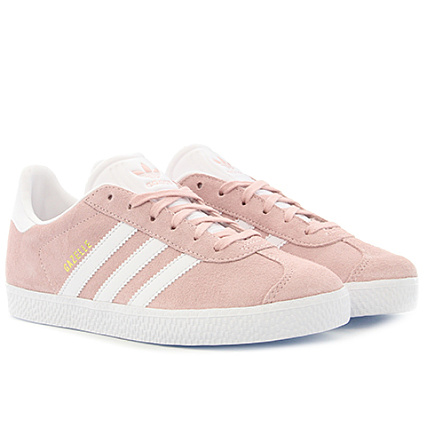 buy online 2dfaa b32f7 adidas - Baskets Femme Gazelle BY9544 Icey Pink Footwear White Gold Metallic  - LaBoutiqueOfficielle.com