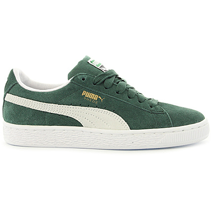 96402179360c Home > Puma > Baskets - Chaussures > Baskets Basses > Puma - Baskets Femme  Suede Classic 365073 06 Pineneedle White