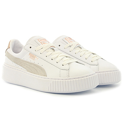 5b17faee5584 Puma - Baskets Femme Platform Euphoria RG 366814 02 White Rose Gold -  LaBoutiqueOfficielle.com