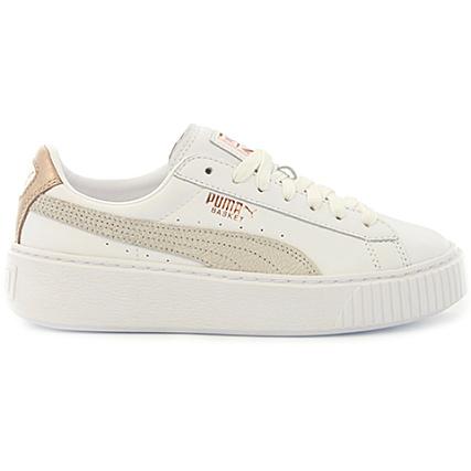 Puma Baskets Femme Platform Euphoria RG 366814 02 White