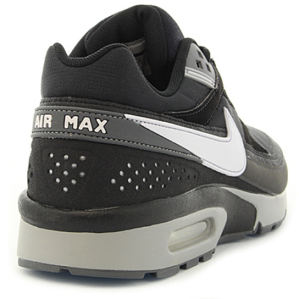new styles 8c53e ca02e Home  Nike  Baskets - Chaussures  Baskets Basses  Nike - Baskets Air  Max BW 881981 006 Black White Wolf Grey