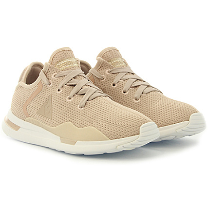 c6dd4181d76 Le Coq Sportif - Baskets Femme Solas Nubuck 1810336 Moonlight Old Brass -  LaBoutiqueOfficielle.com