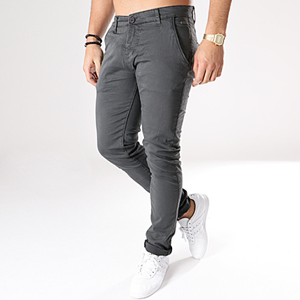Anthracite Lawson Pantalon Gris Deeluxe Chino wZvqvT