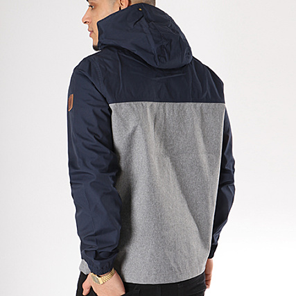 Bleu Light Element Chiné Gris Veste Zippée Alder Capuche Marine qSRgwF