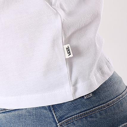 Vans Shirt Femme Open Road Tee 3iqiyb2 Noir Blanc gbf7yYmIv6