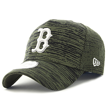 92b5eba0d8a5 New Era - Casquette Engineered Fit MLB Boston Red Sox Vert Kaki Chiné -  LaBoutiqueOfficielle.com