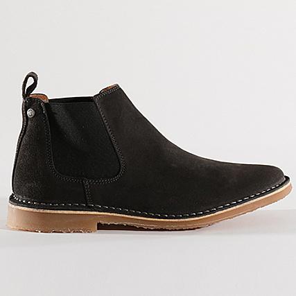Suede And Boots Chelsea 12130960 Pirate Black Jones Jack Leo 8nwOy0mvN