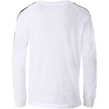 a79c98fae575f Home   adidas   T-shirts   T-Shirts Manches Longues   adidas - Tee Shirt De  Sport Manches Longues Enfant California CE1070 Blanc