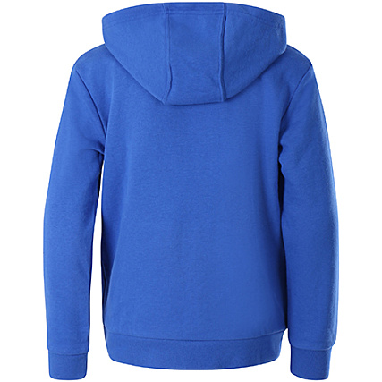 adidas Sweat Capuche Enfant Trefoil CD6504 Bleu Blanc