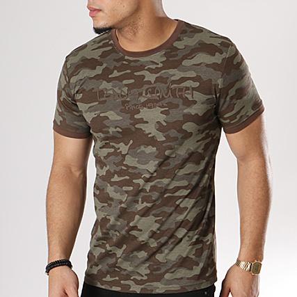 Vert Smith Teddy Ti Kaki Class Camouflage 3 Shirt Tee AfwnRxA