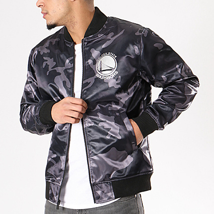 Era Anthracite Bomber Warriors Nba New State Gris Golden Sateen qUdC5WC