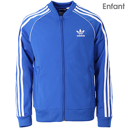 Veste adidas bleu claire