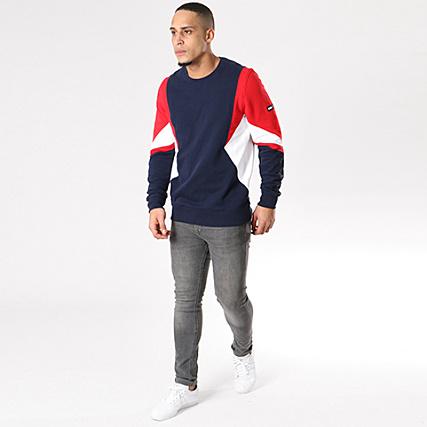 Tommy Hilfiger Jeans Sweat Crewneck Symmetric Colorblock