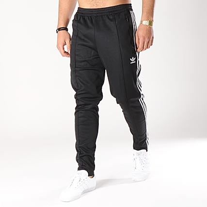 latest design well known low price adidas - Pantalon Jogging Bandes Brodées Beckenbauer CW1269 ...