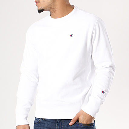 Sweat 210965 Champion Champion Crewneck Blanc DIHW29E
