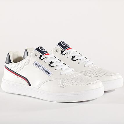 Tacchini White Ltx Sergio Baskets Stm818095 Navy Court 76bfIyvgY
