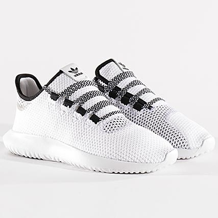 reputable site 1e941 4cca6 adidas - Baskets Tubular Shadow CoreKnit CQ0929 Footwear White Core Black -  LaBoutiqueOfficielle.com