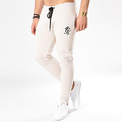 66a48979db50f Gym King - Pantalon Jogging Fleece Ecru - LaBoutiqueOfficielle.com