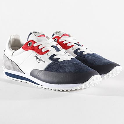 Suede Pepe Garret Jeans Baskets Navy 595 Pms30404 b7Yy6gf