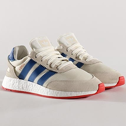 low priced 7ae88 f66eb adidas - Baskets I-5923 BB2093 Off White Blue Core Red -  LaBoutiqueOfficielle.com