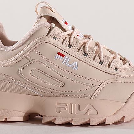 new style 18cd8 78518 Peach Disruptor 1010302 Femme Low Fila 70p Whip Baskets PgwY