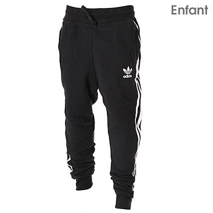 Jogging Adidas Trefoil Pantalon Noir Cv8515 Enfant K15F3ulJTc