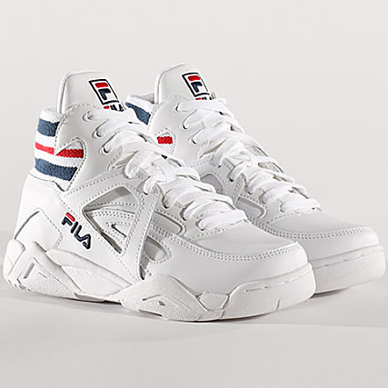 Navy Core White Baskets Femme Red 150 Fila Mid Tc 1010295 Cage CxtsrQdh