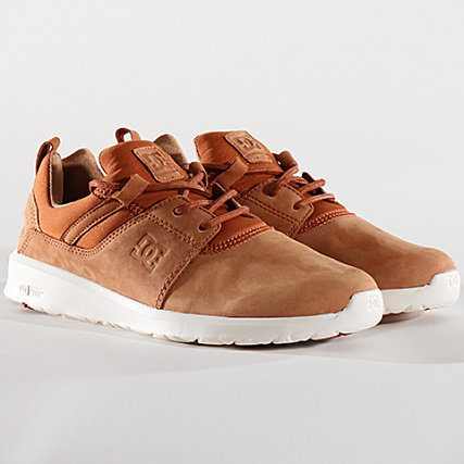 078ab5ae5098 DC Shoes - Baskets Heathrow Le ADYS100292 22C Caramel -  LaBoutiqueOfficielle.com