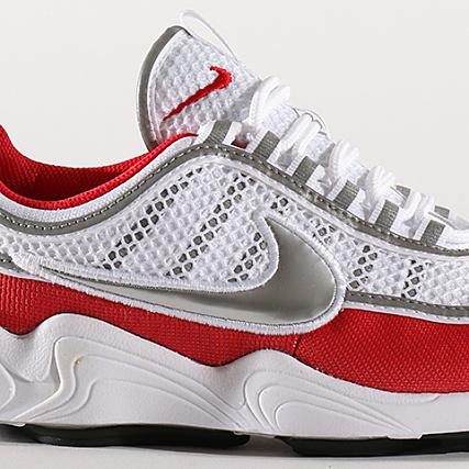 the best attitude 66606 40c5b Home   Nike   Baskets - Chaussures   Baskets Basses   Nike - Baskets Air  Zoom Spiridon 16 926955 102 White Metallic Silver