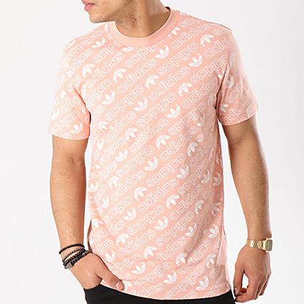 adidas Originals T shirt à imprimé Rose CE1560