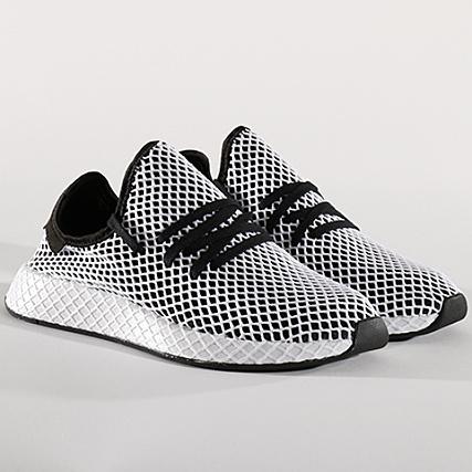 premium selection a8fd8 db08c adidas - Baskets Deerupt Runner CQ2626 Core Black Footwear White -  LaBoutiqueOfficielle.com