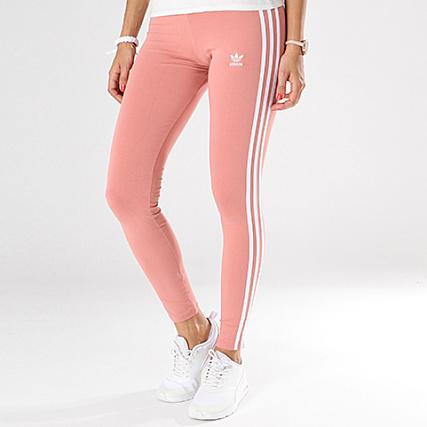 adidas - Legging Femme 3 Stripes CE2444 Rose Pale - LaBoutiqueOfficielle.com af5aaa4808c