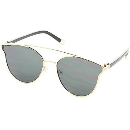 choisir authentique style limité en ligne Uniplay - Lunettes De Soleil CV2001 Noir Doré ...
