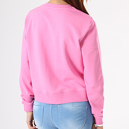 True Sweat Calvin Rose Crewneck Femme Klein Harrisi Icon e2I9EHDWYb