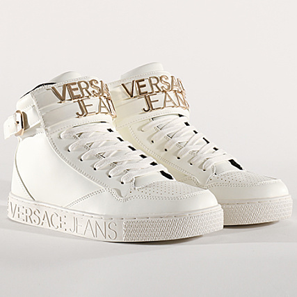 Jeans Baskets Linea Logata Dis Versace Cassetta Blanc 2 E0yrbsd2 N8wvmn0