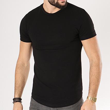 Aarhon Tee Shirt Oversize 1801 Noir