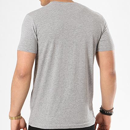 ae2dee996596 Home   K-Way   T-shirts   T-Shirts Poche   K-Way - Tee Shirt Poche Elias  Gris Chiné
